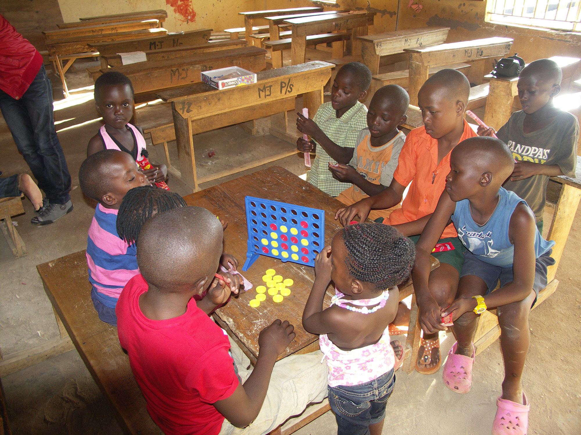 Connect 4 is a hit in Uganda too