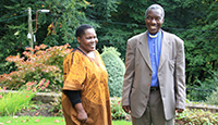 Founders of Mother Janet School - Rev John & Mrs Margaret Byanyimba